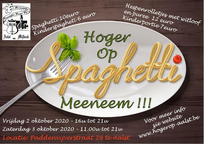 2020 Spaghetti of hespenrolletjes om mee te nemen